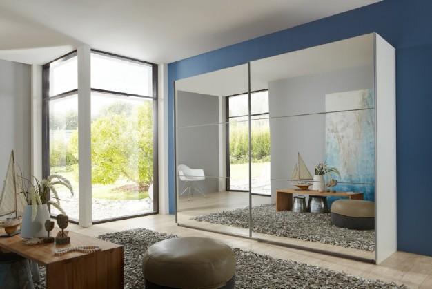 Spálne ZLACNENÉ Match Up - Dvere, 3x dekor sklo/zrkadlo