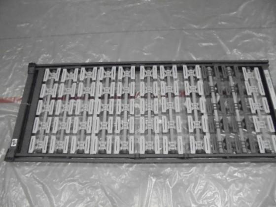 Spálne ZLACNENÉ Rošt 3D-Motion KF metalic 80x200