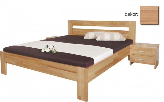 Spálne ZLACNENÉ Vitalia - Rám postele 200x140 (masívny buk)