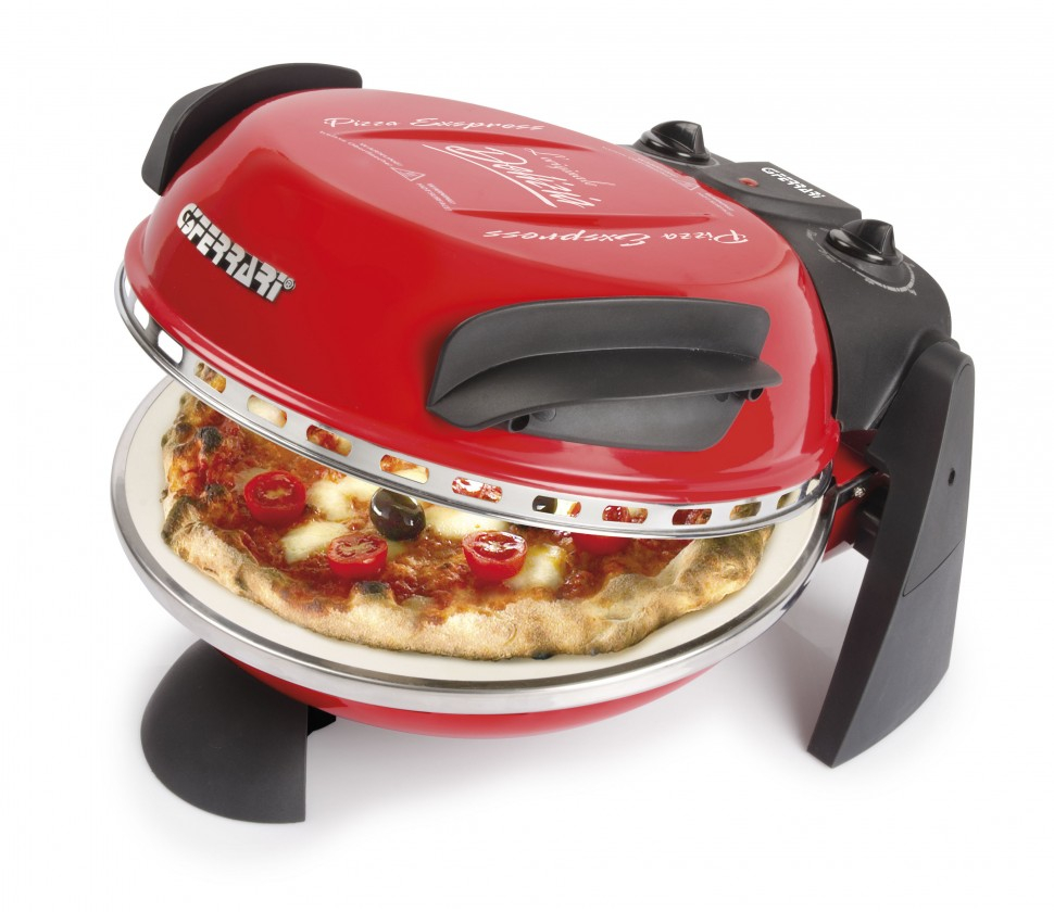 Špecialitky do kuchyne G3Ferrari G1000602 Pizza trouba  DELIZIA, červená