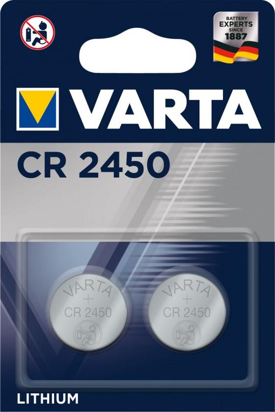 Špeciálne batérie Batéria Varta CR 2450 2ks