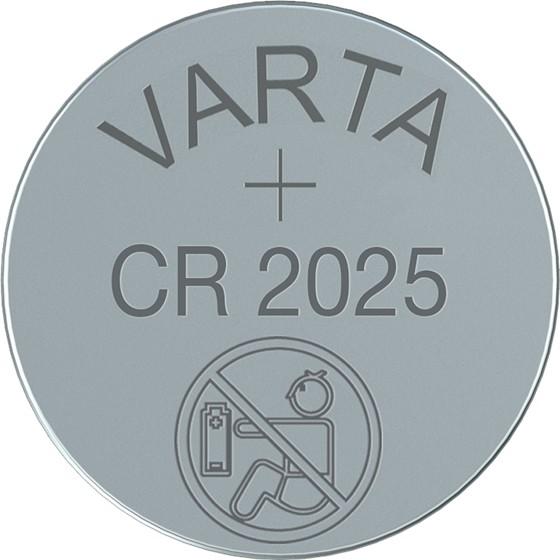 Špeciálne batérie Batéria Varta CR2025 5ks