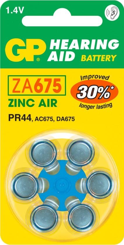 Špeciálne batérie Batérie do načúvacích prístrojov Emos B3575, ZA675, 6 ks
