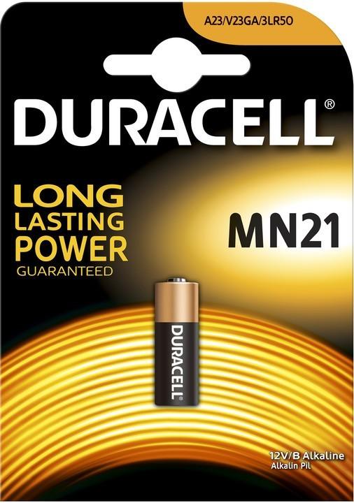 Špeciálne batérie Baterie Duracell Security MN21 1ks