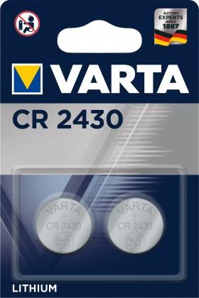 Špeciálne batérie Batérie Varta CR2430, lítium, 2 ks