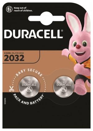 Špeciálne batérie Gombíková batéria Duracell DL 2032 B2 CR2032, 2ks