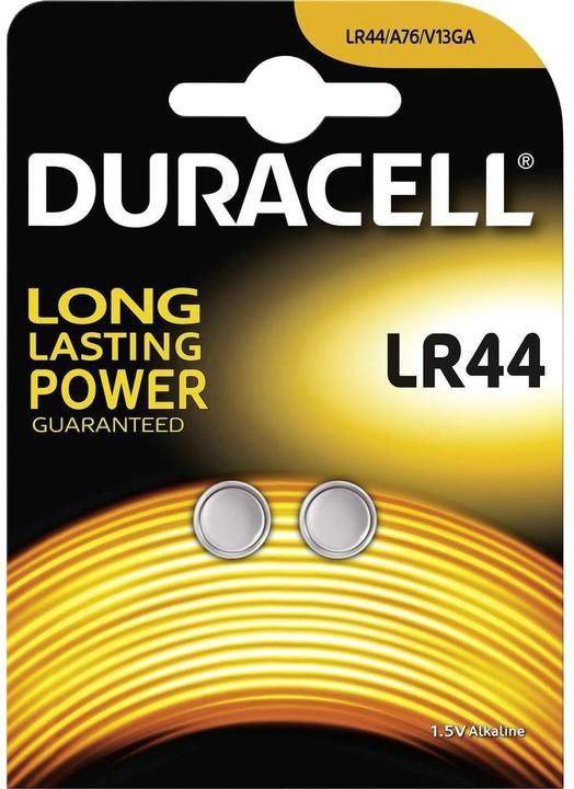 Špeciálne batérie Gombíková batéria Duracell DU LR 44 B2 V13GA/LR44