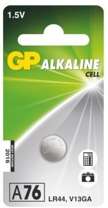 Špeciálne batérie Gombíková batéria GP LR44 A76F V13GA/LR44