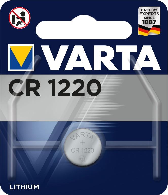 Špeciálne batérie Gombíková batéria Varta CR1220