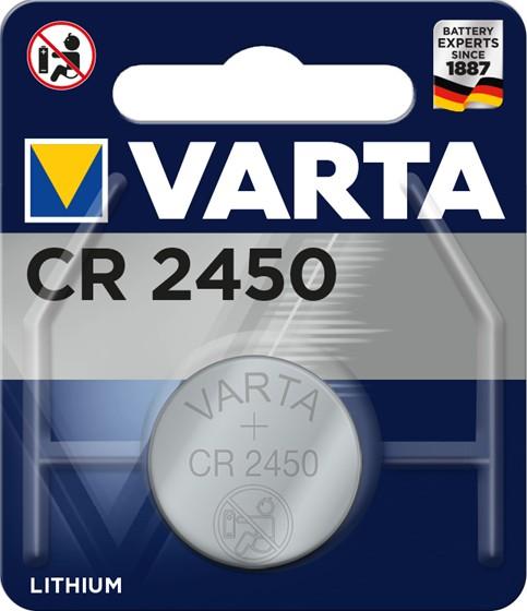 Špeciálne batérie Gombíková batéria Varta CR2450
