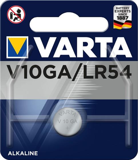 Špeciálne batérie Gombíková batéria Varta V10GA/LR54