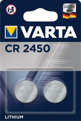 Špeciálne batérie Špeciálne batérie Varta CR 2450, 2ks