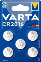 Špeciálne batérie Varta CR 2016, 5ks