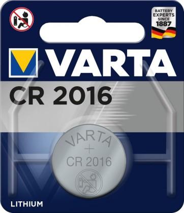 Špeciálne batérie Varta CR2016