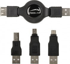Speedlink COMPA USB Cable Kit, black