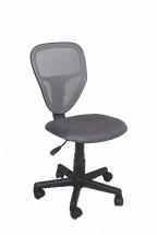 Spike - detská stolička (sivá)