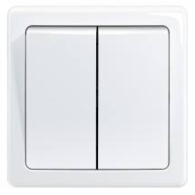 Spínač Emos 3557G-05340 B1W, sériový, biely