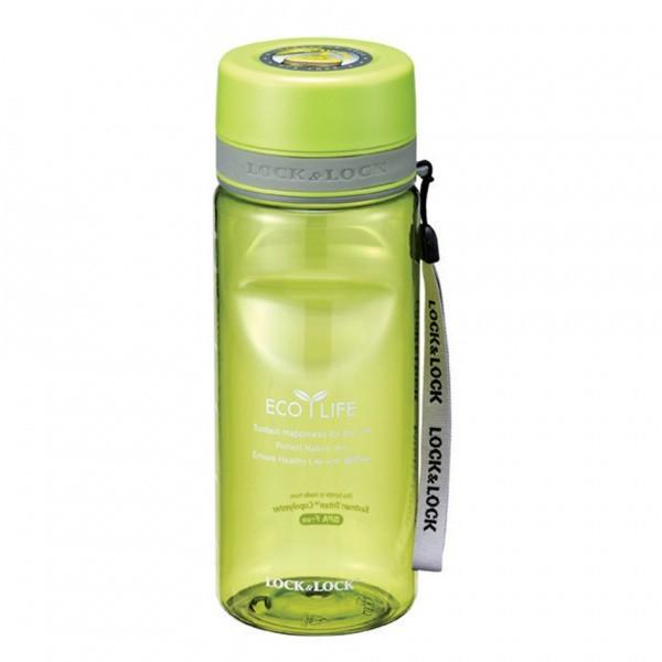 Športová fľaša, 600ml (zelená)