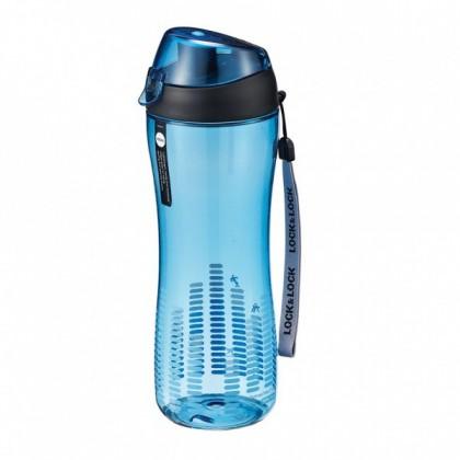 Športová fľaša na pitie, 550ml (modrá)