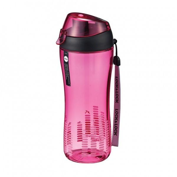 Športová fľaša na pitie, 550ml (ružová)