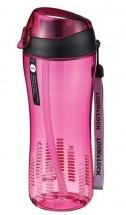 Športová fľaša na pitie Lock @ Lock ABF638P, 550ml, ružová