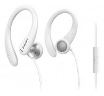 Športové slúchadlá Philips TAA1105WT, biele
