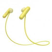 Športové slúchadlá Sony WI-SP500Y, žlté