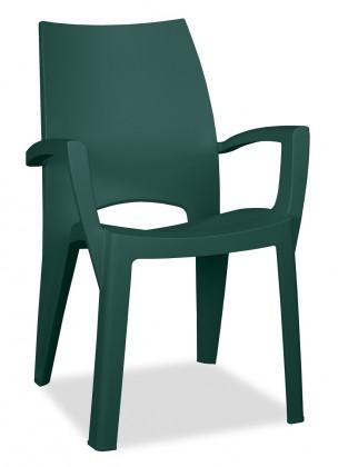 Spring - Stolička (tmavo zelená)
