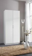 Sprint - skriňa 198x90 cm,2x dvere (alpská biela)