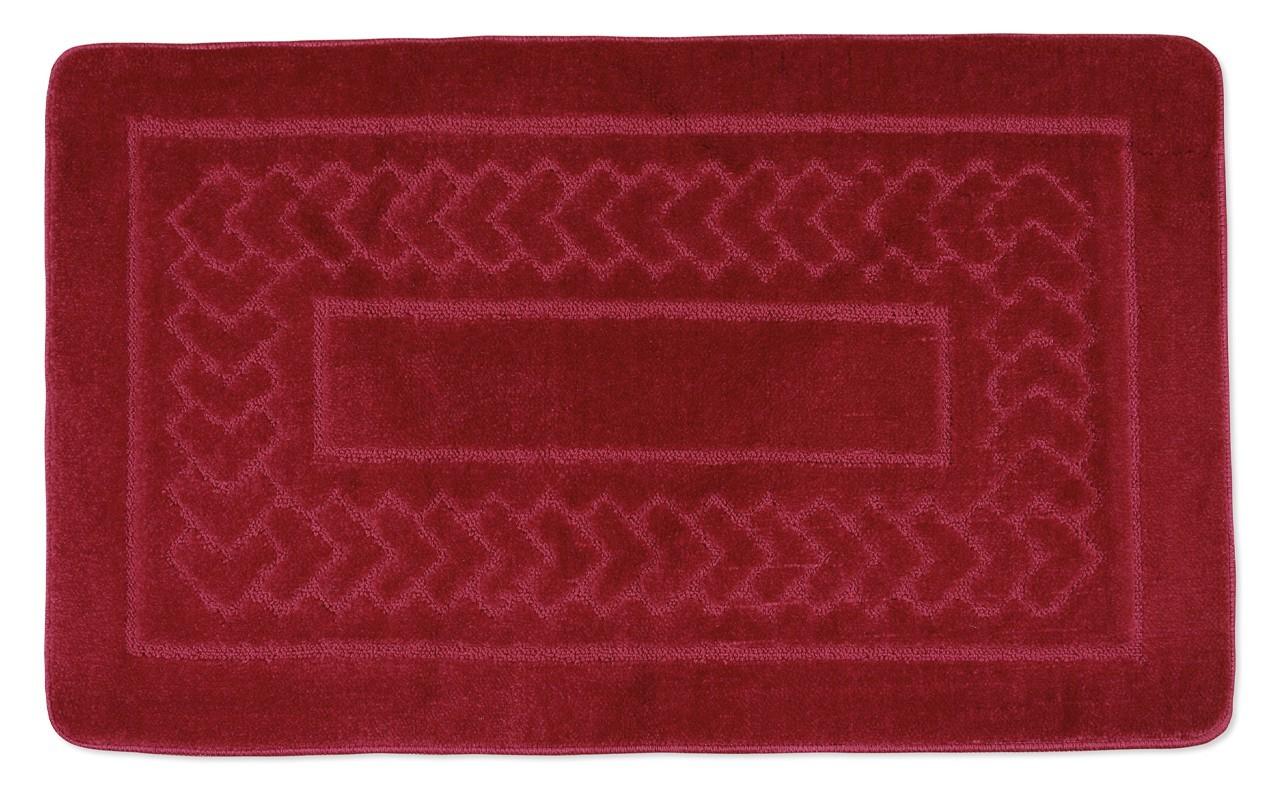 Standard - Kúpeľňová predložka 60x100 (červené bolzáno)