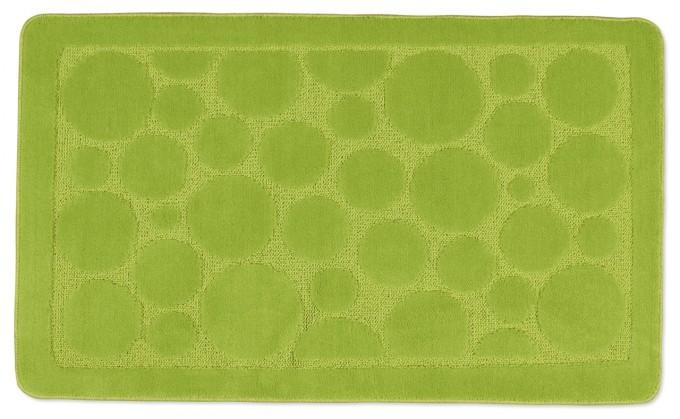 Standard - Kúpeľňová predložka 60x100 (sv.zelená bublina)