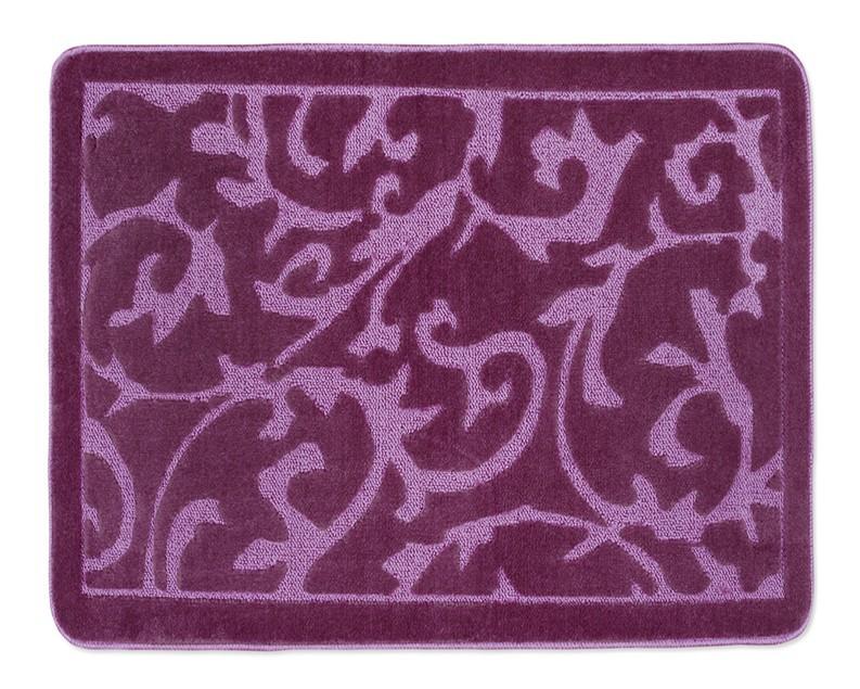 Standard - Kúpeľňová predložka 60x50 (fialový koberec)