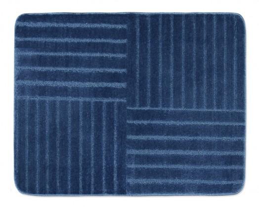 Standard - Kúpeľňová predložka 60x50 (modré pruhy)