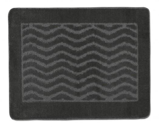 Standard - Kúpeľňová predložka 60x50 (sivé vlnky)