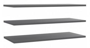 Starlet Plus - Set 3 polic 108 cm (pre STPS124E1) (sivá)