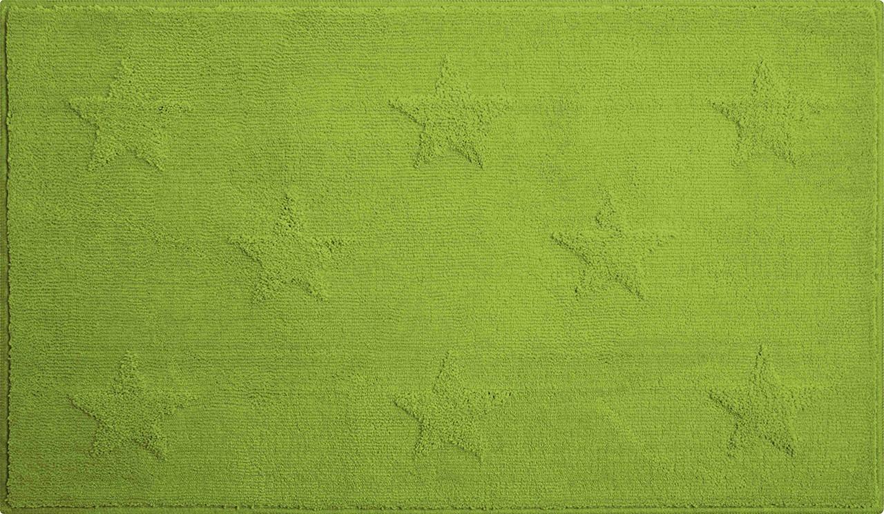 Starlets - Kúpeľňová predložka 65x115 cm (zelená)