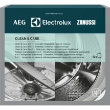 Starostlivosť o práčku a umývačku AEG Clean&Care M3GCP400, 3v1