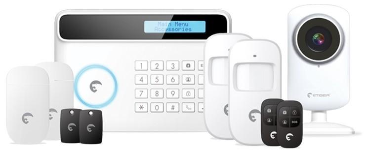 Štartovaciesúpravy eTiger S4 Combo Vid Secual Sim - bezpečnostný systém s Video/GSM