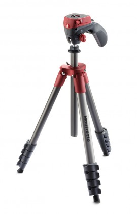 Statív Manfrotto MK CompactACN-RD, stativ COMPACT ACTION