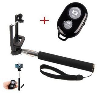 Statív Teleskopická tyč pre selfie fotky s bluetooth ovládačom