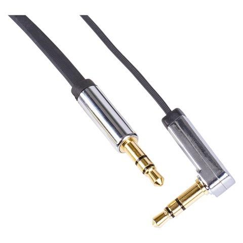 Stereo audio kábel Emos SM7031BL, jack / jack, 1m