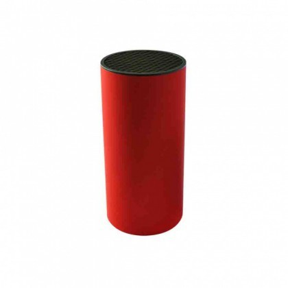 Stojany na nože TORO Blok na nože, plast, červený 11,2x22, 8CM (263452)