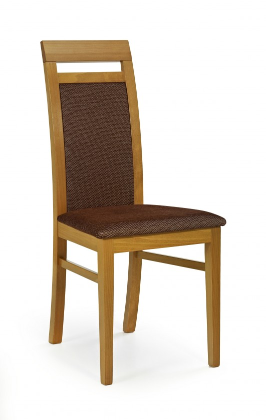 Stolička Albert - jedálenská stolička (torrent hnedá, jelša)