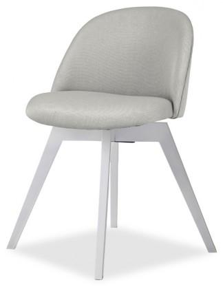 Stolička ALLY 9368-207+BESS 9347-001 (sv.šedá,biela)