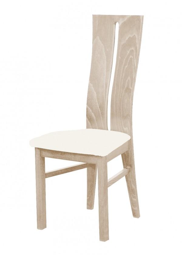Stolička Andre I - jedálenská stolička (drevo - dub sonoma/poťah - látka)