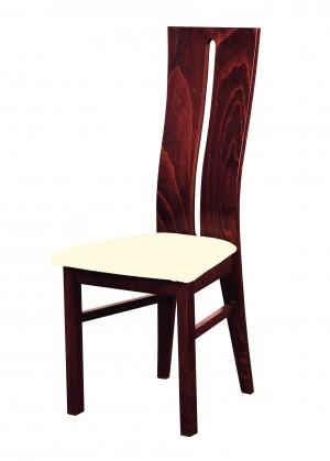 Stolička Andre I - jedálenská stolička (drevo - sołtysiak/poťah - látka)