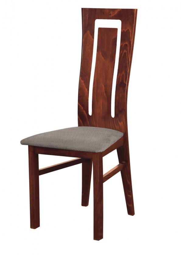 Stolička Andre II - jedálenská stolička (drevo - sołtysiak/poťah - látka)