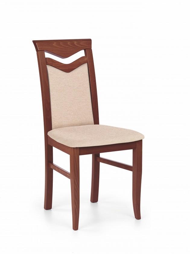 Stolička Citrone - Jedálenská stolička (svetlo hnedá, čerešňa)