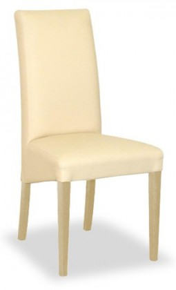 Stolička Corina (prírodné/eko kože elektra, béžová)