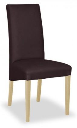 Stolička Corina (prírodné/eko kože elektra, hnedá)